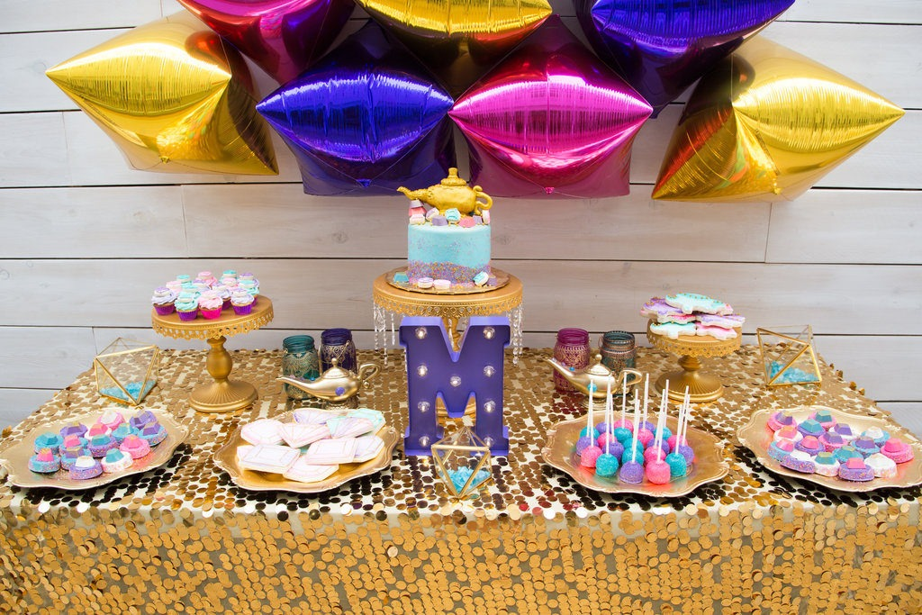 Moroccan Genie Birthday Party Bashery Co By Pamelyn Rocco